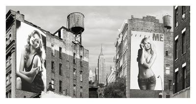 Billboards in Manhattan-Julian Lauren-Giclee Print
