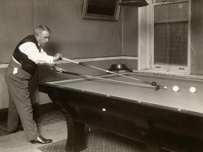 Billiard Player, c1907--Giclee Print