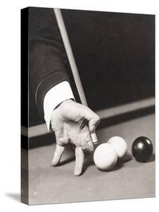 Billiards World Champion Willie Hoppe's Hand Was Insured for $100,000