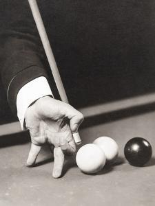 Billiards World Champion Willie Hoppe's Hand Was Insured for $100,000