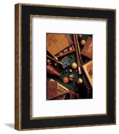 Billiards-Michael Harrison-Framed Art Print