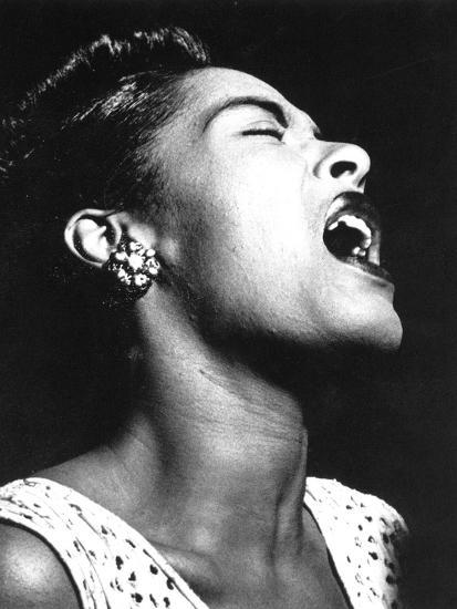 Billie Holiday (1915-1959)--Photographic Print
