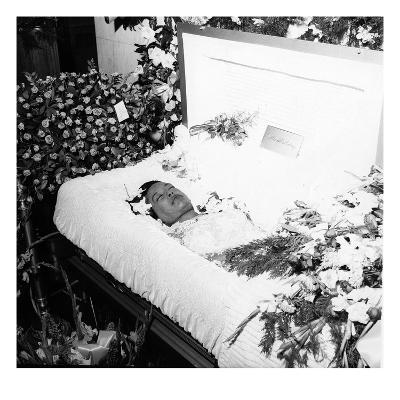 Billie Holliday Funeral - 1959-Moneta Sleet Jr.-Photographic Print