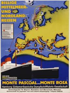 Billige Mittelmeer Und Nordland-Reisen Poster