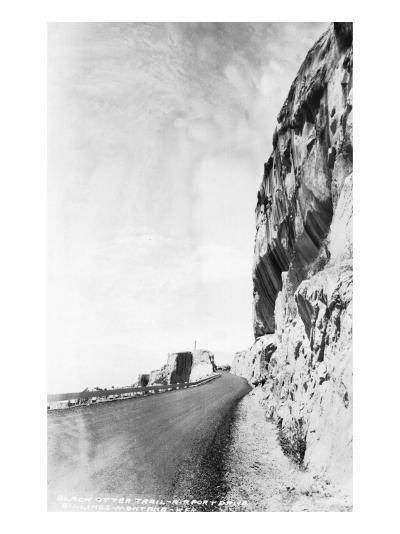 Billings, Montana - Black Otter Trail; Airport Drive-Lantern Press-Art Print