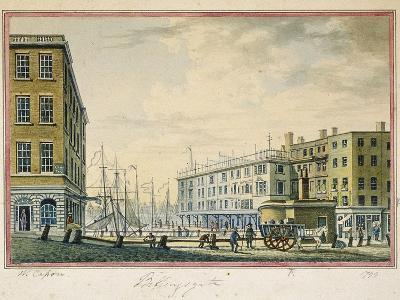 Billingsgate Market, London, 1799-William Capon-Giclee Print