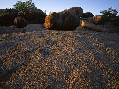 Billion year old granite, Elephant Rocks State Park, Missouri, USA-Charles Gurche-Photographic Print