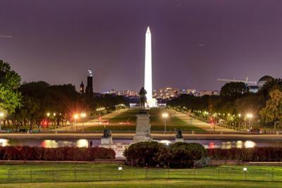 The Mall Monument Us Grant Memorial Evening Stars Washington Dc by BILLPERRY