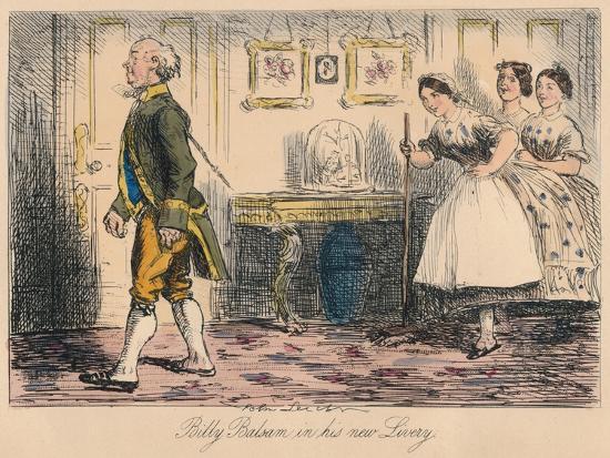 'Billy Balsam in his new Livery', 1865-John Leech-Giclee Print
