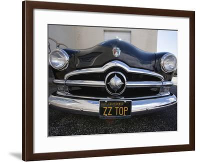 Billy F. Gibbons Hot Rod-David Perry-Framed Photographic Print
