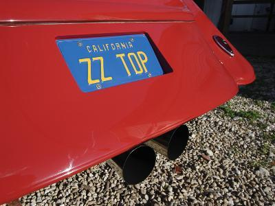 Billy F. Gibbons ZZ Top Car-David Perry-Photographic Print