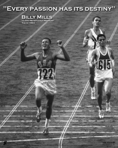 Billy Mills: Destiny--Art Print