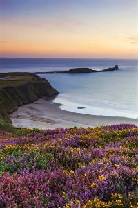 Rhossili Bay, Worms End, Gower Peninsula, Wales, United Kingdom, Europe by Billy