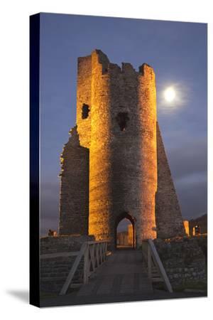 Aberystwyth Castle, Ceredigion, West Wales, United Kingdom, Europe