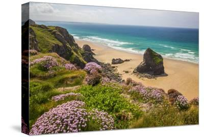 Bedruthan Steps, Newquay, Cornwall, England, United Kingdom