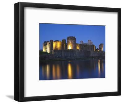 Caerphilly Castle, Mid Glamorgan, Wales, United Kingdom, Europe