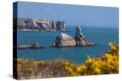 Church Rock, Broad Haven Beach, Pembrokeshire, West Wales, Wales, United Kingdom