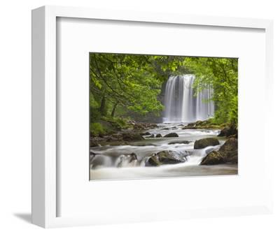 Sgwd yr Eira Waterfall, Brecon Beacons, Wales, United Kingdom, Europe