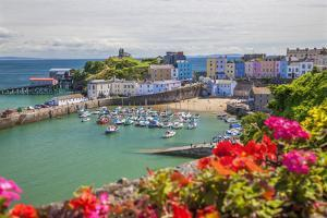 Tenby, Pembrokeshire, Wales, United Kingdom, Europe by Billy Stock