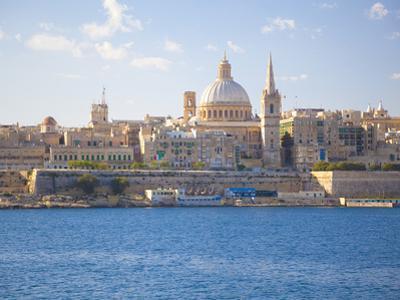 Valletta, Malta, Mediterranean, Europe by Billy Stock