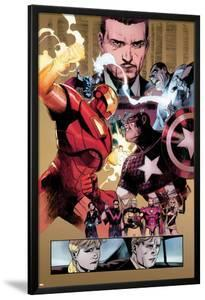 New Avengers No.48 Group: Captain America, Spider Woman, Ronin and Wolverine by Billy Tan