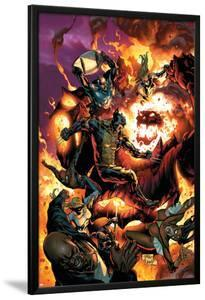 New Avengers No.54 Cover: Wolverine, Spider-Man, Dormammu and Captain America by Billy Tan