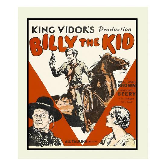 Billy the Kid--Art Print