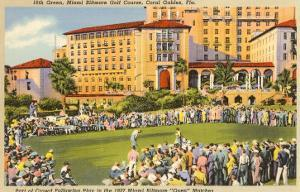 Biltmore Golf Course, Coral Gables, Florida