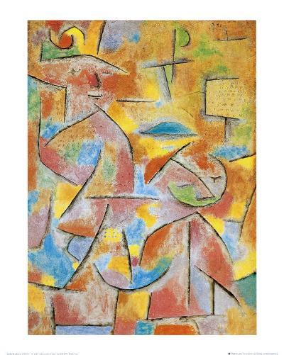Bimba e Zia, c.1937-Paul Klee-Art Print