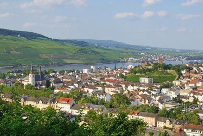 Bingen Am Rhein - Rüdesheim Im Hintergrund-DOC RABE Media-Photographic Print