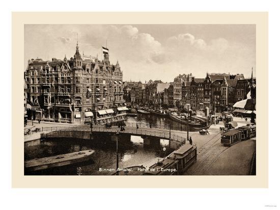 Binnen Amstel Hotel de l'Europe, Amsterdam--Art Print