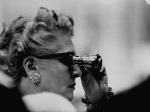 Binoculars Used to Watch Veiled Prophet Ball