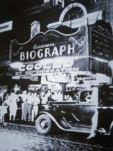 Biograph Cinema Theatre, Chicago, 1934