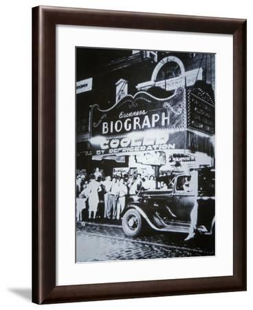 Biograph Cinema Theatre, Chicago, 1934--Framed Giclee Print