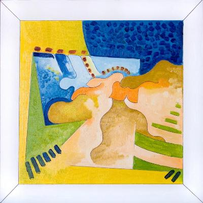 Biological Forms in a Square Within a Square, 2006-Jan Groneberg-Giclee Print