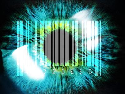 Biometric Eye Scan-PASIEKA-Photographic Print
