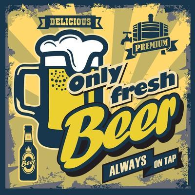 Vintage Beer Sign