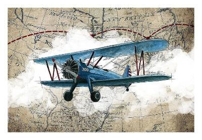 Biplane 1-GraphINC Studio-Art Print