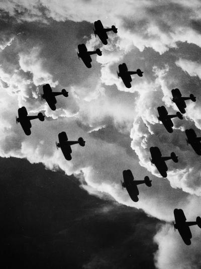 Biplanes, C1917--Photographic Print