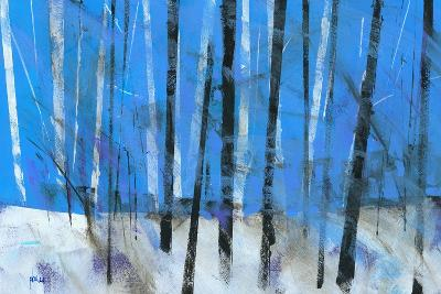 Birch and Black Ash Saplings-Paul Bailey-Art Print