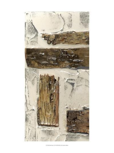 Birch Bark Abstract I-Jennifer Goldberger-Art Print