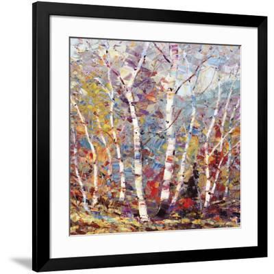 Birch Colors 2-Dean Bradshaw-Framed Art Print