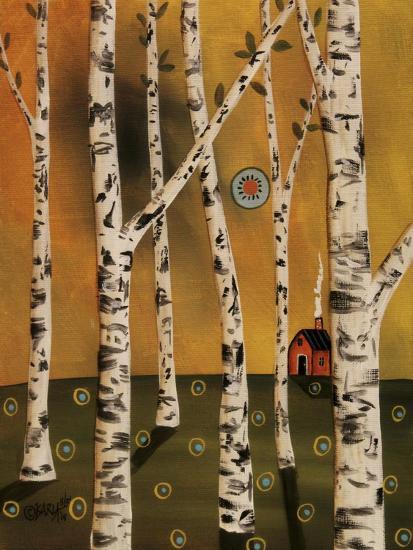 Birch Grove 1-Karla Gerard-Giclee Print