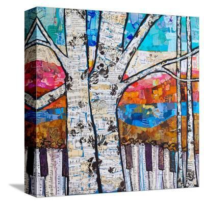 Birch Keys #2--Stretched Canvas Print