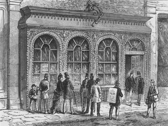Birch's confectionery shop, Cornhill, City of London, 19th century (1911)-Unknown-Giclee Print