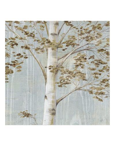 Birch Study II-Daphn? B-Art Print