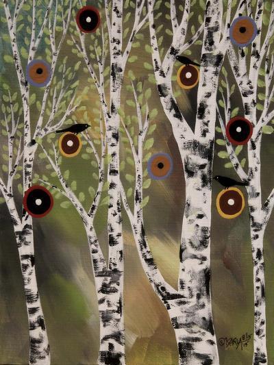 Birches 1-Karla Gerard-Giclee Print