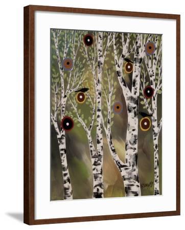 Birches 1-Karla Gerard-Framed Giclee Print