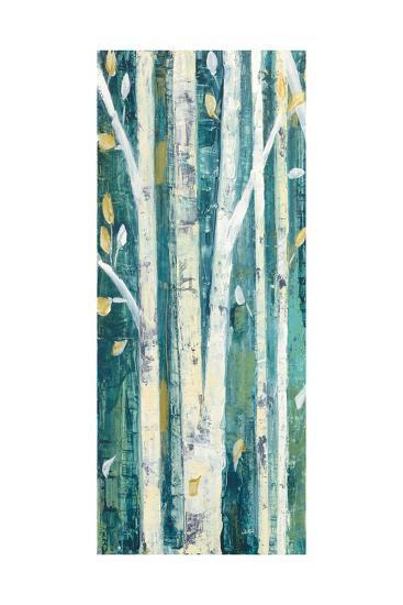 Birches in Spring Panel I-Julia Purinton-Art Print