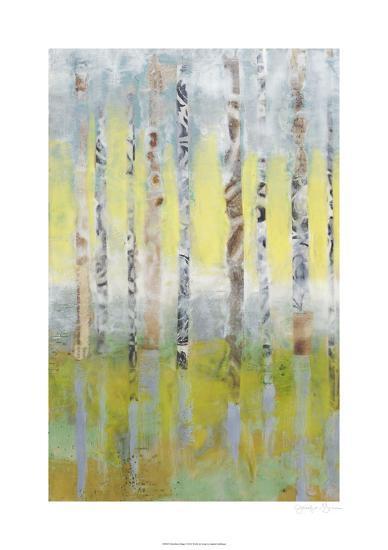 Birchline Collage I-Jennifer Goldberger-Limited Edition